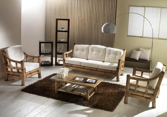 Orientalna Stylistyka Bambusowych Mebli Do Salonu I Sypialni